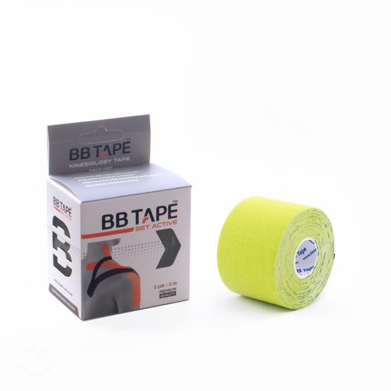 BB Kinesiology Tape 5cm x 5m - jasnozielony