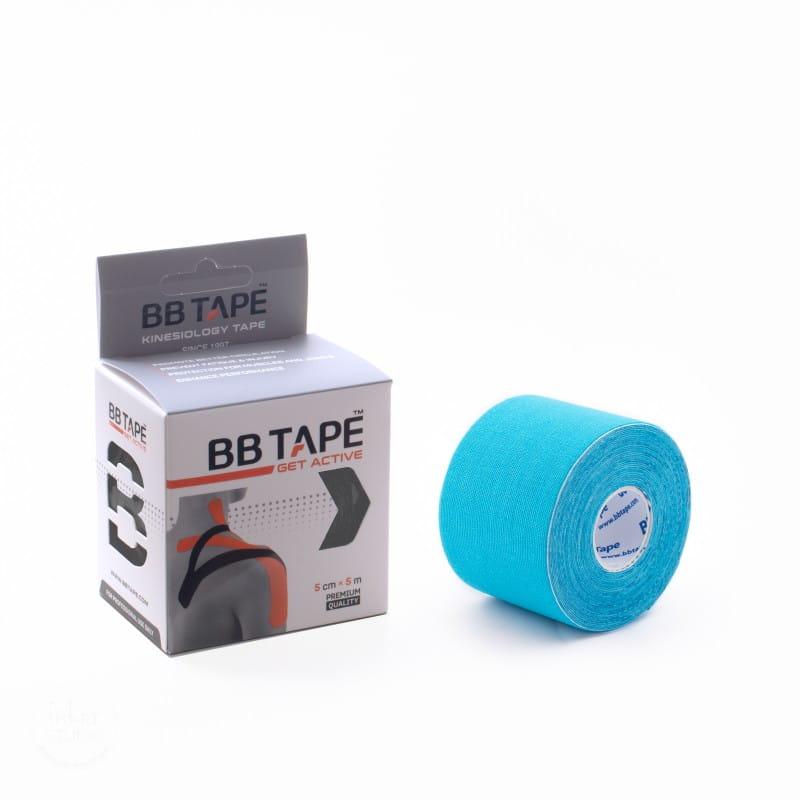 BB Kinesiology Tape 5cm x 5m - niebieski