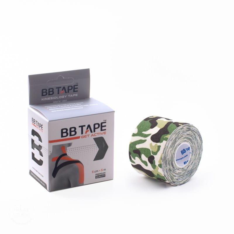 BB Kinesiology Tape 5cm x 5m - moro zielony