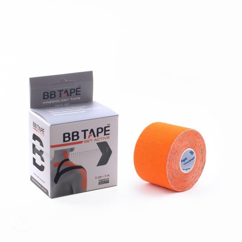 BB Kinesiology Tape 5cm x 5m - pomarańczowy