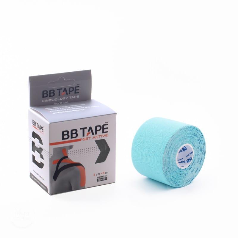 BB Kinesiology Tape 5cm x 5m - błękitny