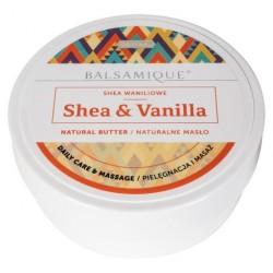 Naturalne masło waniliowe - Shea & Vanilla - Balsamique