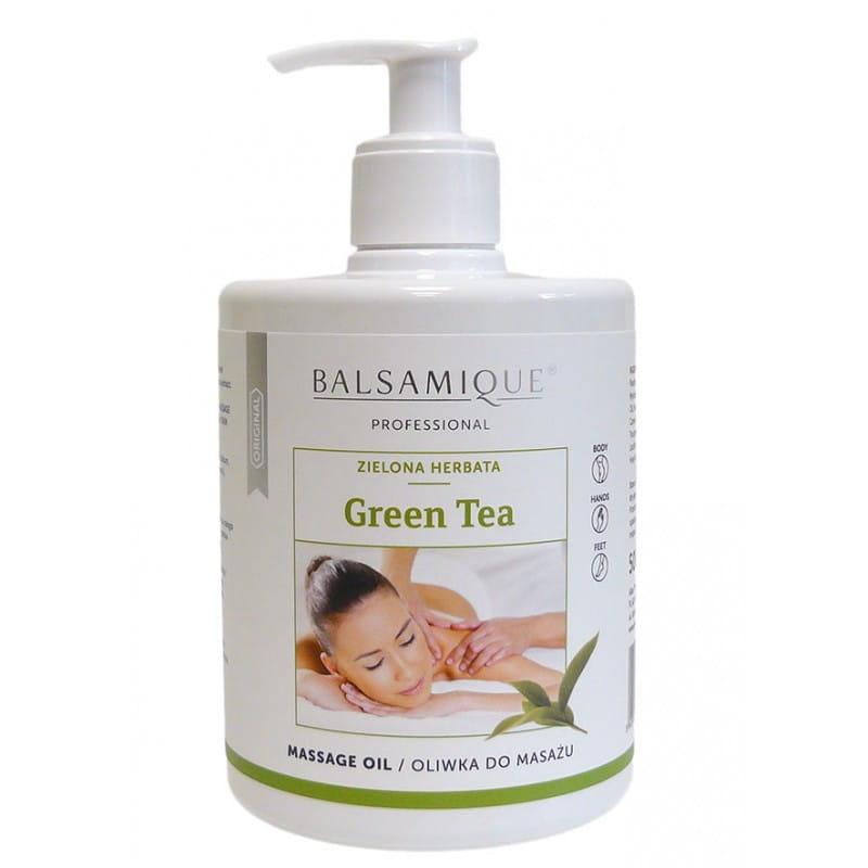 Oliwka do masażu - Balsamique Proffesional Green Tea