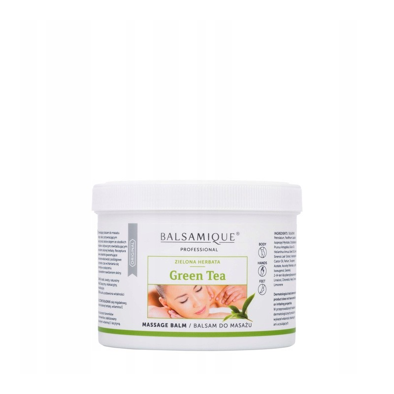 Balsam do masażu Green Tea - Balsamique