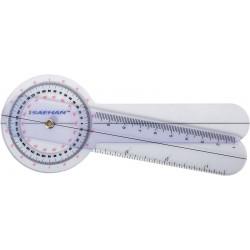 Plastikowy Goniometr 15cm