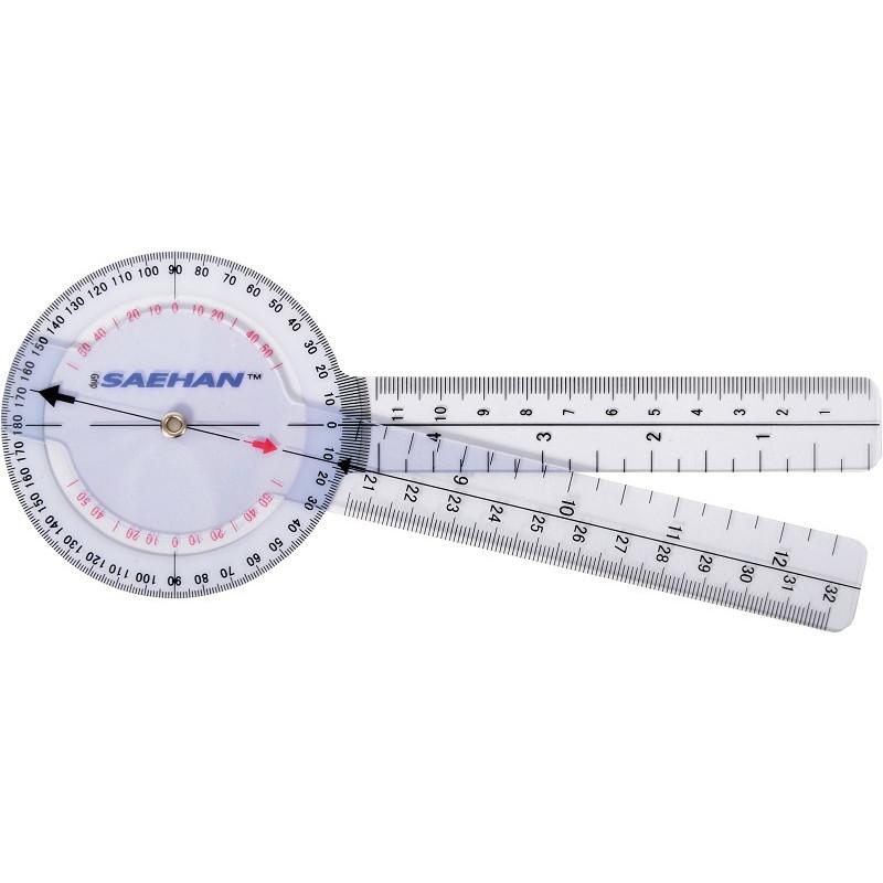 Plastikowy Goniometr 20cm