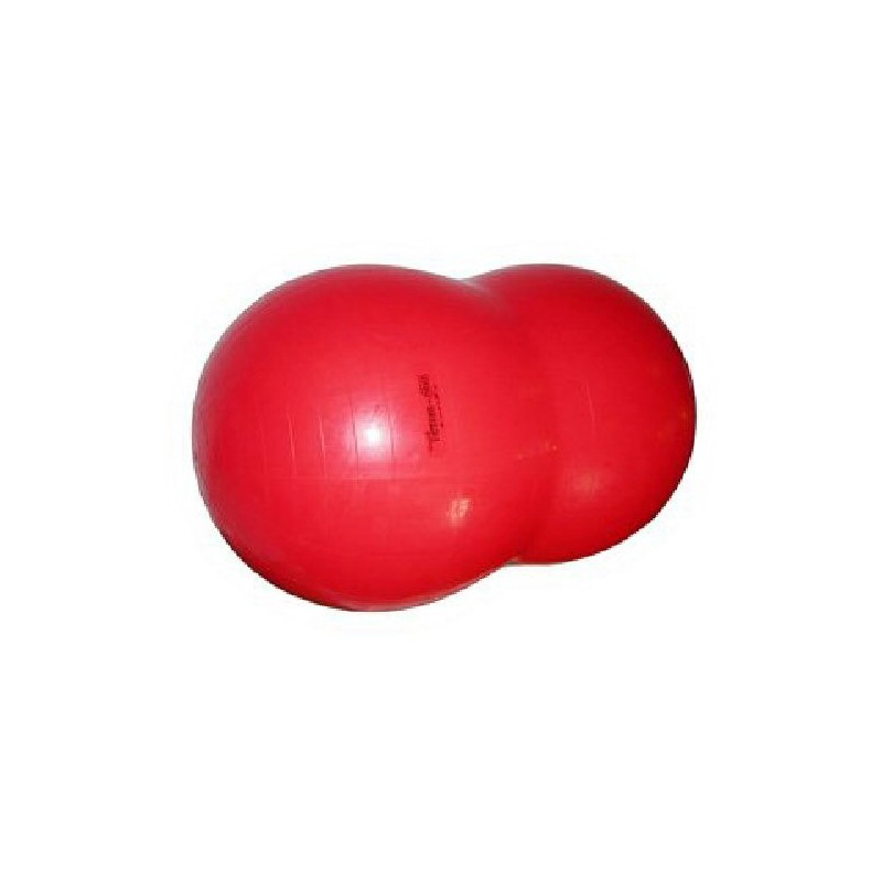 Gymnic Physio Roll Fasolka 85 x 130cm - kolor czerwony