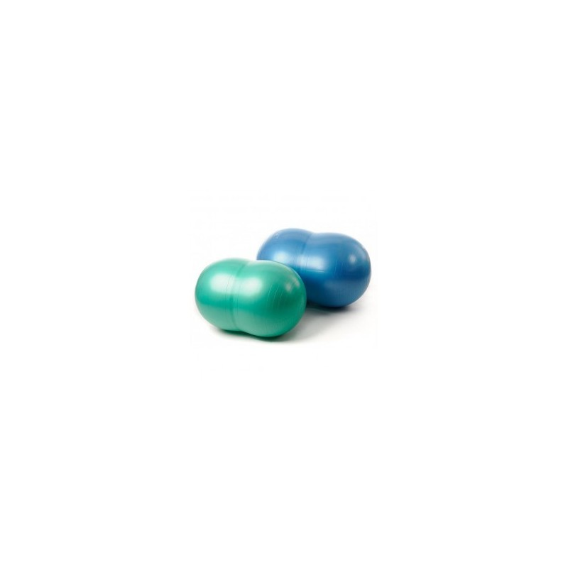 Gymnic Physio Roll PLUS Fasolka 70x115cm - niebieska
