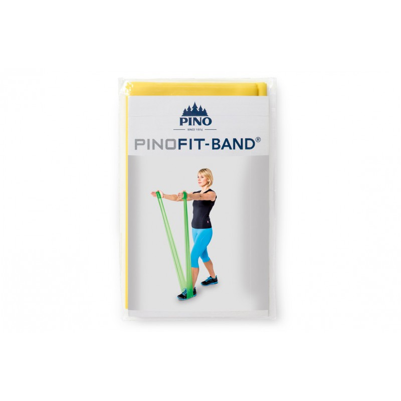 PINOFIT żółta guma do ćwiczeń 2m