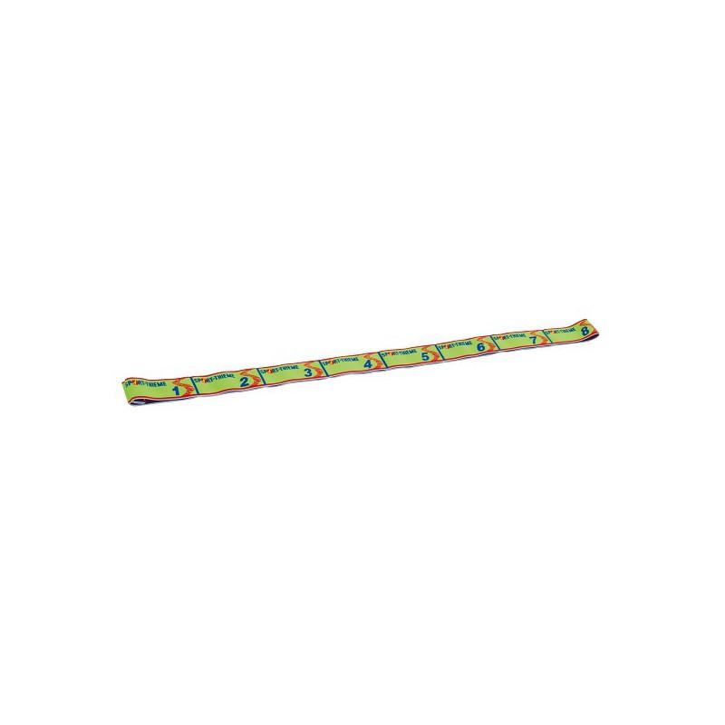 Elastiband - zielona - taśma do ćwiczeń - opór do 10kg