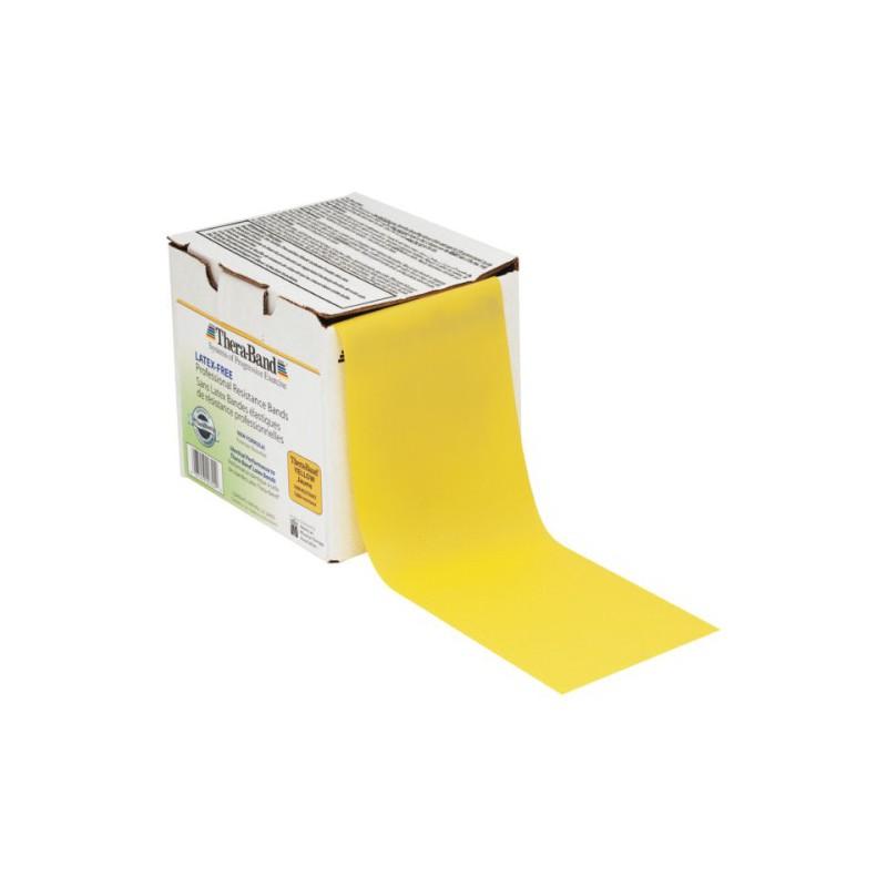 Guma do ćwiczeń Thera-Band bezlateksowa - żółta