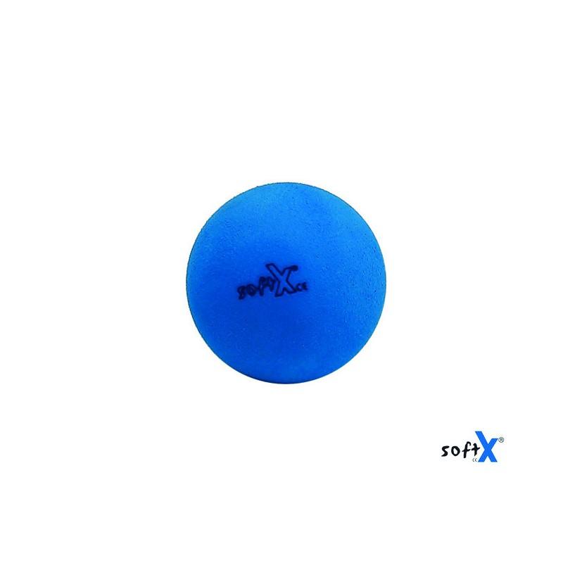 Piłka SoftX 65 standard - niebieska