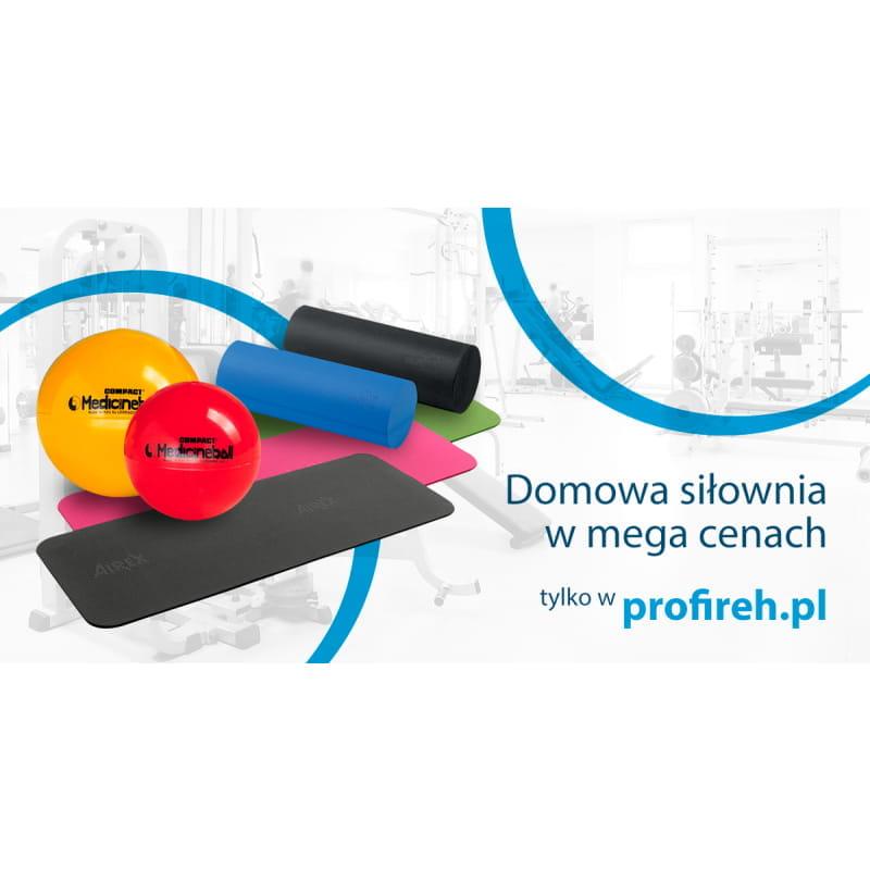 Mata Airex 180 cm + Roller SoftX + Piłka lekarska 1kg