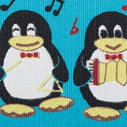 BB Kinesiology Tape 5cm x 5m - pingwin niebieski