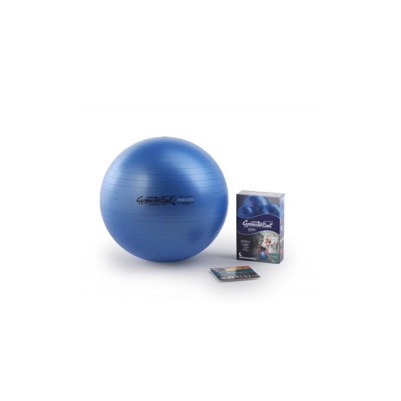 Pezzi GymnastikBall Maxafe 75cm niebieska