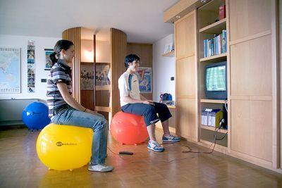 Piłka do siedzenia dla dzieci